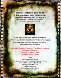 Think Outside the Mine Flyer