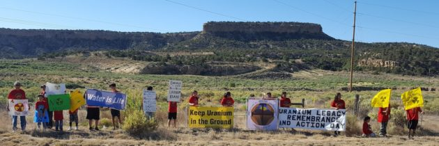 38th Uranium Tailings Spill Commemoration 2017 Flyer